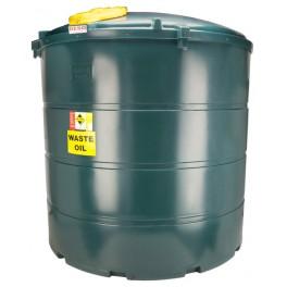 Deso V5000WOW Bunded Plastic Waste Oil Tank