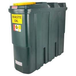 Deso SL1250WOW Bunded Plastic Waste Oil Tank