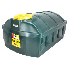 Deso LP1200WOW Bunded Plastic Waste Oil Tank