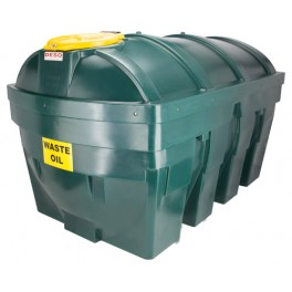 Deso H2500WOW Bunded Plastic Waste Oil Tank