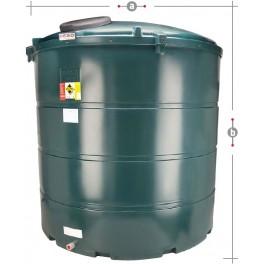 Deso V5000BT Bunded Plastic Oil Tank